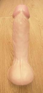 Bondara's realistic suction dildo