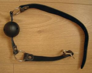 Bondage boutique ball gag